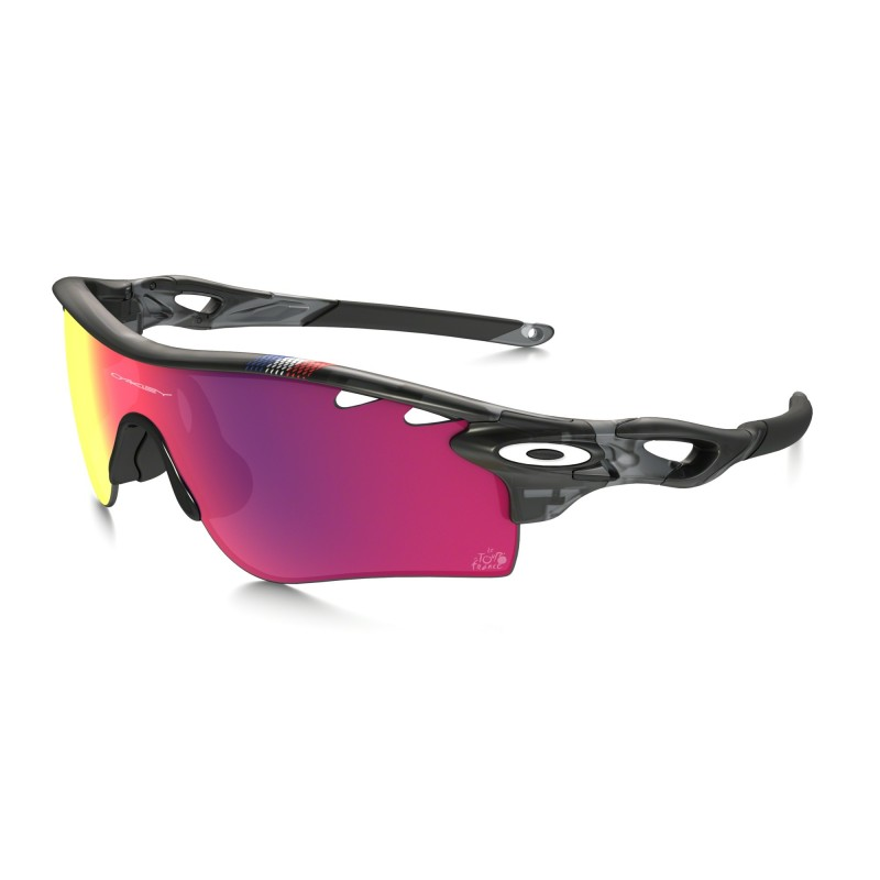 Oakley Tour de France Edition Radarlock Path - Grey Smoke / PrizmOakley Tour de France Edition Radarlock Path - Grey Smoke / Prizm Road Vented & Clear - OO9181-48 Zonnebril