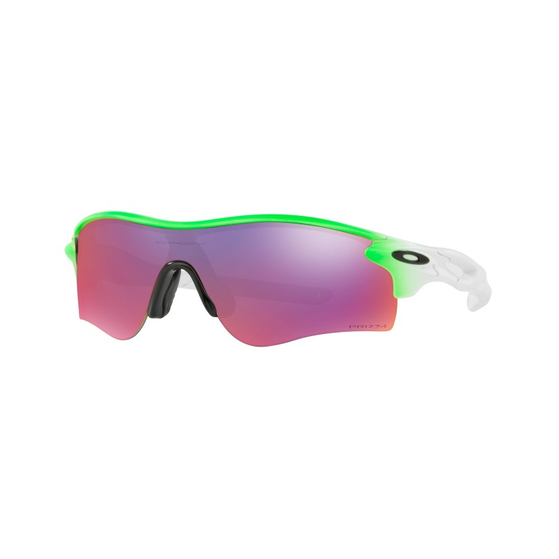 Oakley Radarlock Path Green Fade + Prizm Road OO9181-57