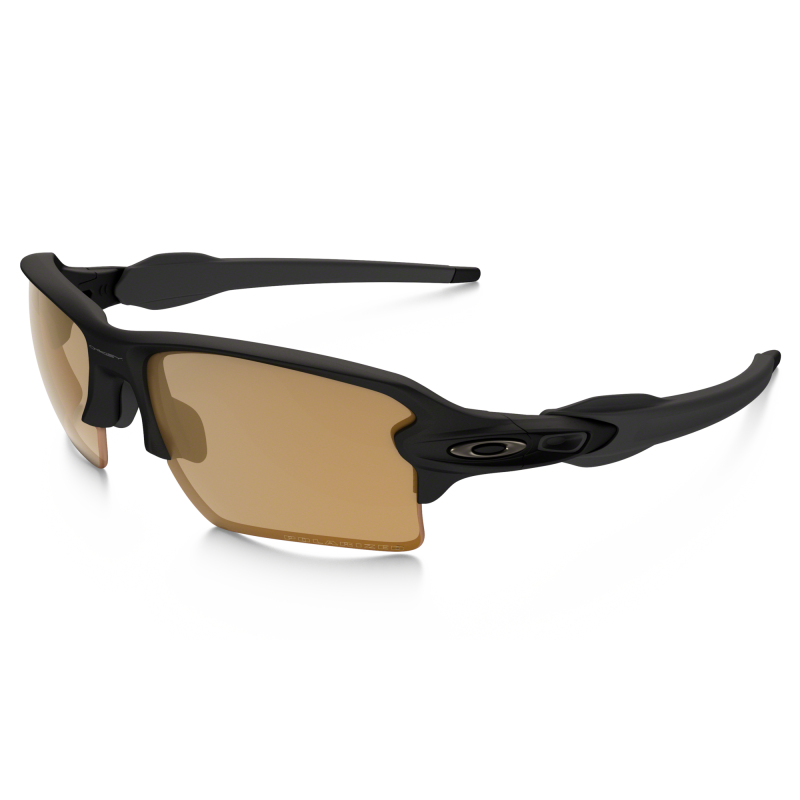 Oakley Flak 2.0 XL - Matte Black / Bronze Polarized -OO9188-07 Zonnebril nze Polarized