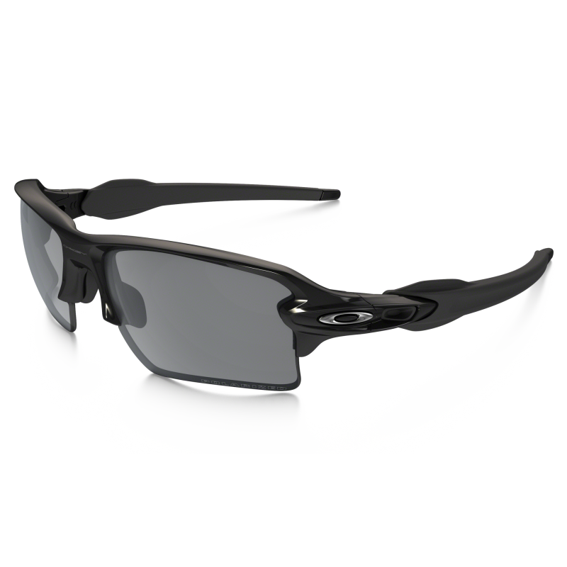 Oakley Flak 2.0 XL Polished Black / Black Iridium Polarized