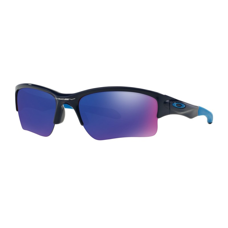 Oakley Quarter Jacket (Youth Fit) - Polished Navy / +Red Iridium - OO9200-04 Zonnebril