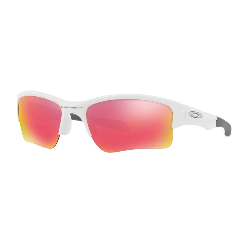 Oakley Quarter Jacket (Youth Fit) - Polished White / Prizm Field - OO9200-09 Zonnebril