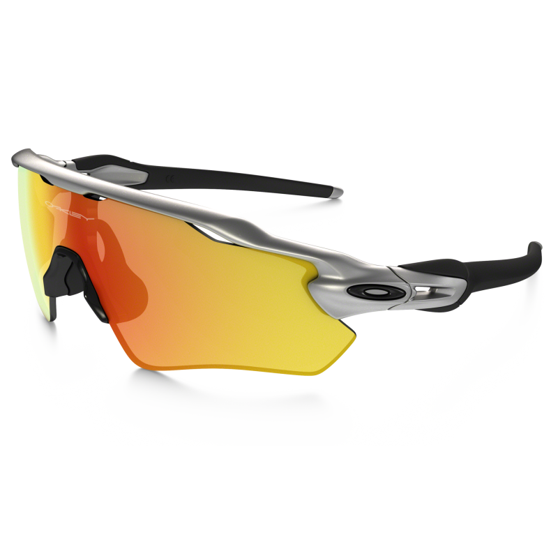 Oakley Radar EV Path Zonnebril - Silver / Fire Iridium