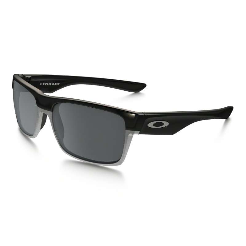 Oakley TwoFace (Asian Fit) - Polished Black / Black Iridium Polarized - OO9256-06 Zonnebril
