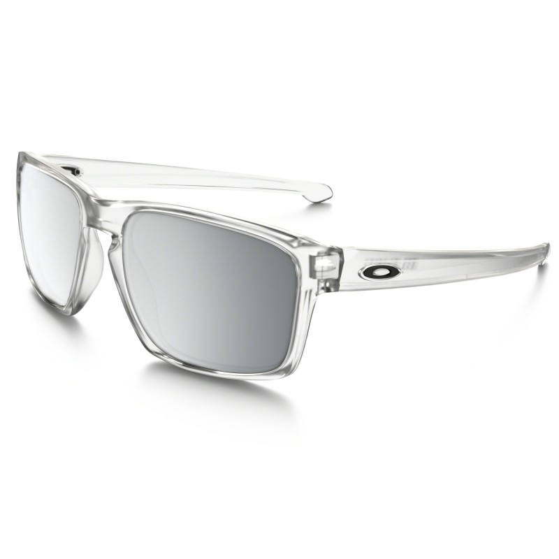 Oakley Sliver - Matte Clear / Chrome Iridium - OO9262-23 Zonnebril