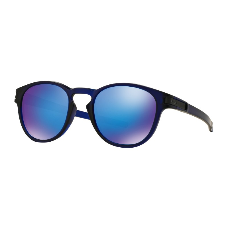 Oakley Latch - Matte Crystal Blue / Sapphire Iridium - OO9265-14 Zonnebril