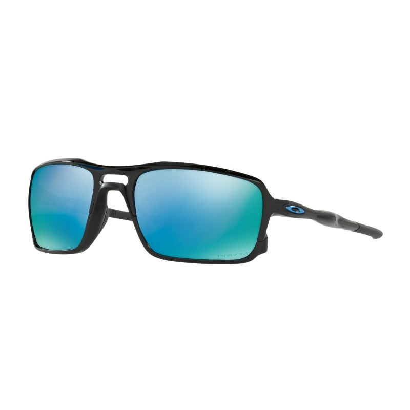 Oakley Triggerman - Polished Black / Prizm Deep Water Polarized - OO9266-11 Zonnebril