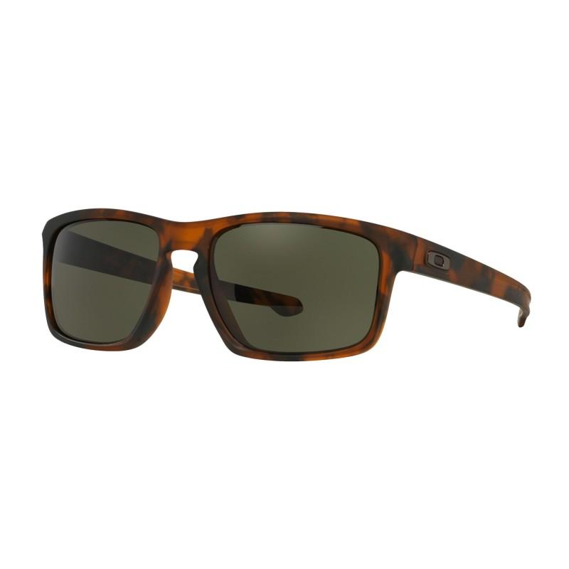 Oakley Sliver (Asian Fit) Matte Brown Tortoise / Dark Grey - OO9269-02 Zonnebril