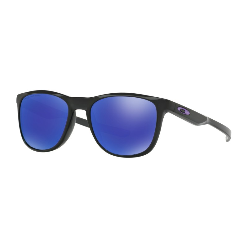Oakley Trillbe X - Black Ink / Violet Iridium Polarized - OO9340-03 Zonnebril