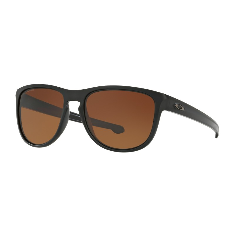 Oakley Sliver R - Matte Black / Brown Gradient Polarized - OO9342-06 Zonnebril