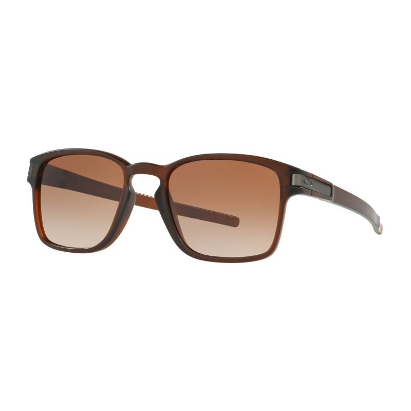 Oakley Latch Sq - Matte Dark Brown / Dark Brown Gradient - OO9353-09 Zonnebril