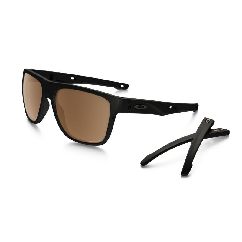 Oakley Crossrange XL - Matte Black / Prizm Tungsten Polarized - OO9360-0658 Zonnebril