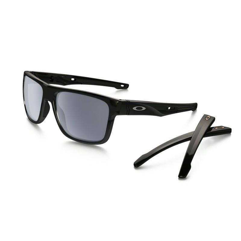 Oakley Crossrange XL - Polished Black / Grey - OO9361-0157 Zonnebril