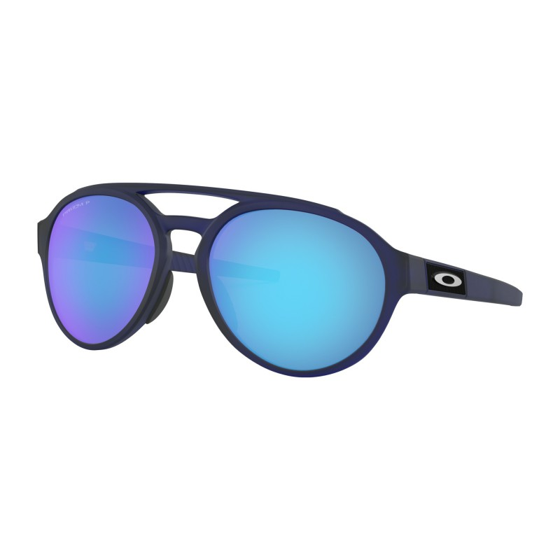 Oakley Forager Matte Translucent Blue / Prizm Sapphire Polarized - OO9421-0658