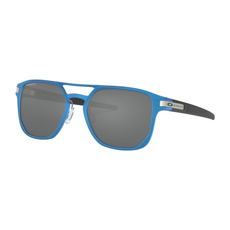 Oakley Latch Alpha Matte Sapphire Blue / Prizm Black - OO4128-0353
