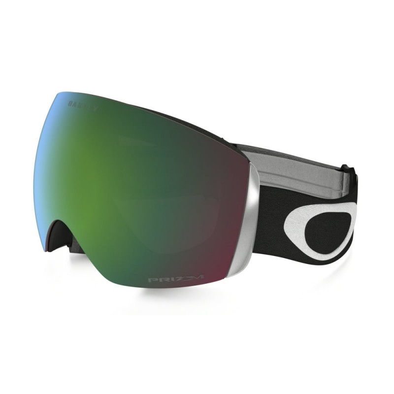 Oakley Flight Deck (Asian Fit) Matte Black / Prizm Snow Jade Iridium - OO7050-04 Skibril