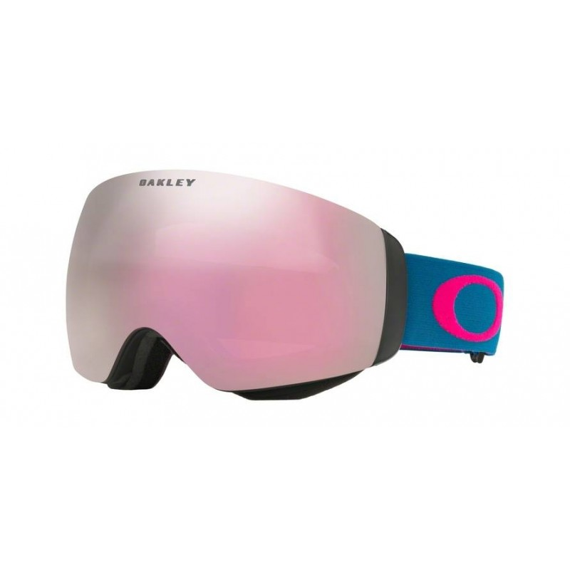 Oakley Flight Deck XM - Legion Blue Rose / Prizm Snow HI Pink Iridium - OO7064-52 Skibril