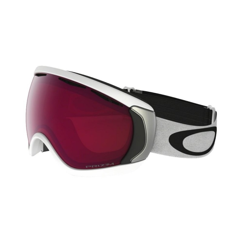 Oakley Canopy - Matte White / Prizm Snow Rose - OO7047-53 Skibril