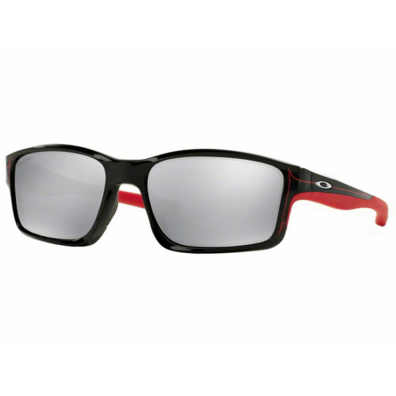 Oakley Chainlink Troy Lee Design - Polished Black / Chrome Iridium - OO9247-19 Zonnebril