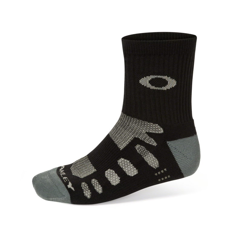 Oakley Performance Tech Half Crew Sock 2 - Pack 2 - Black - 93154-001-M Sokken