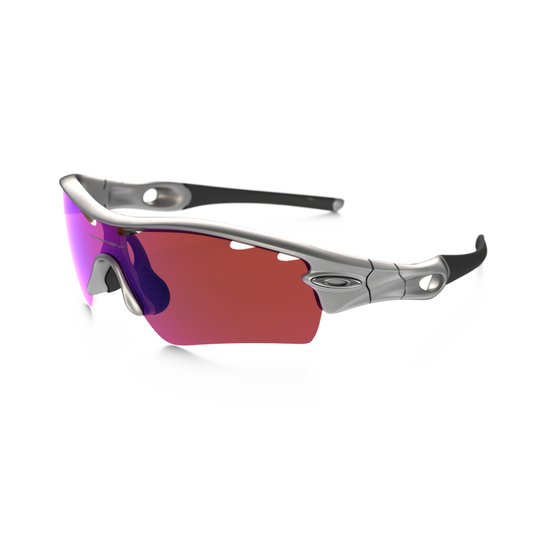 Oakley Radarlock Pitch - Silver / G30 Iridium Vented