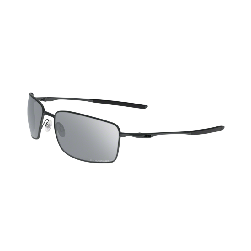 Oakley Square Wire - Carbon / Chrome Iridium Polarized