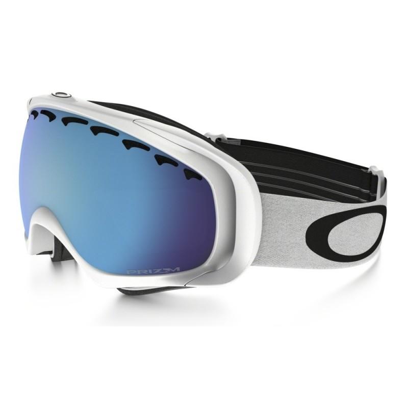 Oakley Crowbar - Matte White / Prizm Sapphire Iridium - OO7005N-36 Skibril