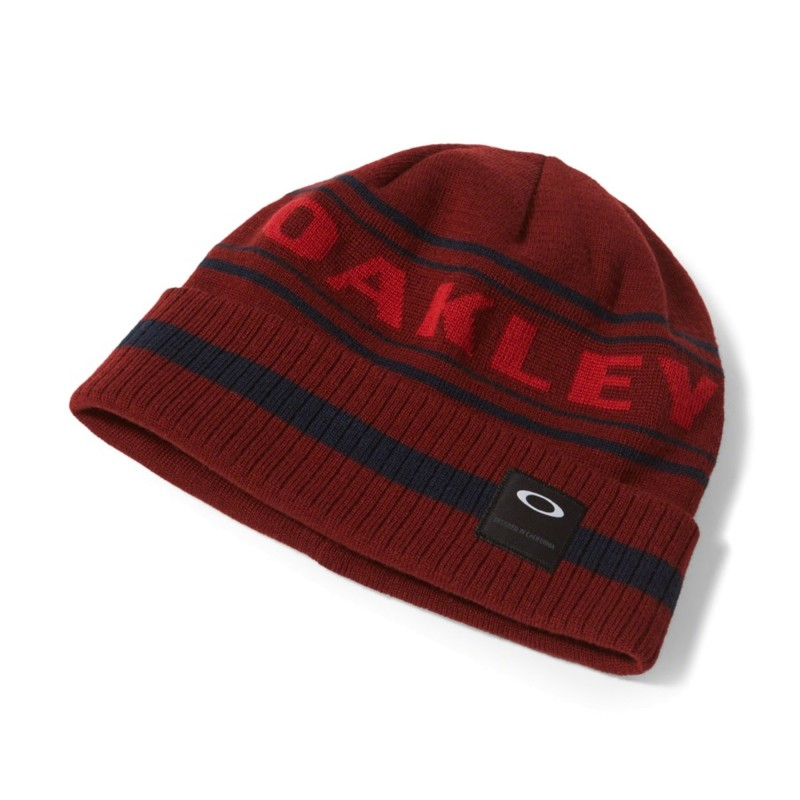 Oakley Rockgarden Cuff Beanie - Iron Red - 911764-80U Muts