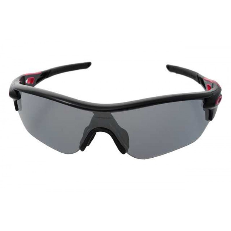 Oakley Radarlock Edge (Asian Fit) Polished Black + Slate Iridium OO9209-02 Zonnebril