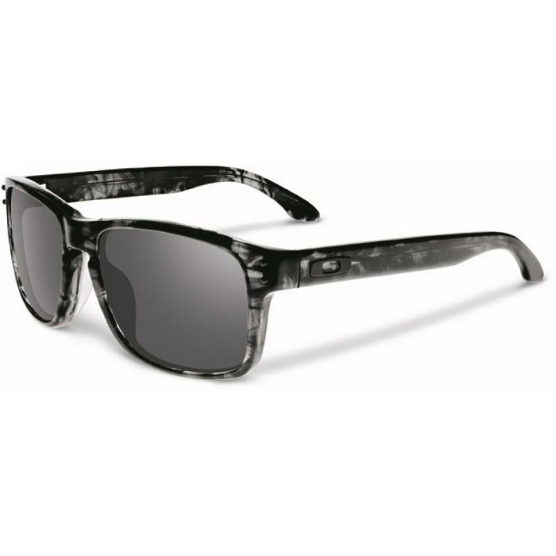 Oakley Holbrook LX - Dark Grey Tortoise / Black Iridium - OO2048-02 Zonnebril