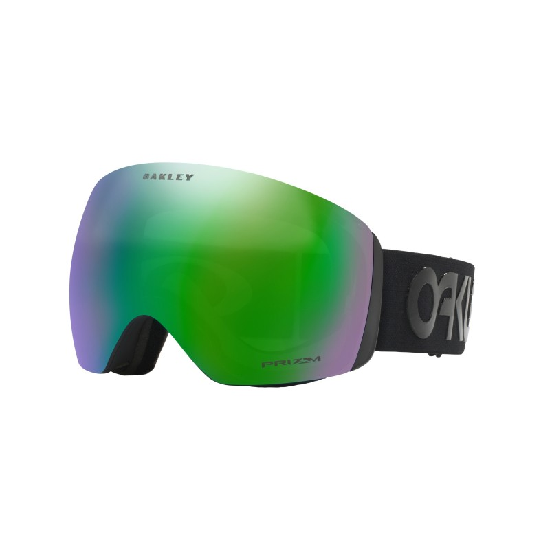 Oakley Flight Deck Factory Pilot Blackout / Prizm Snow Jade Iridium OO7050-49 Skibril