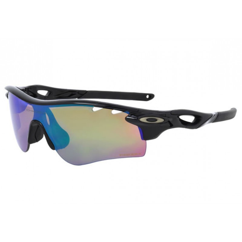 Oakley Radarlock Path Polished Black + Prizm Deep H20 Polarized & Prizm Shallow H20 Polarized OO9181-53 Zonnebril