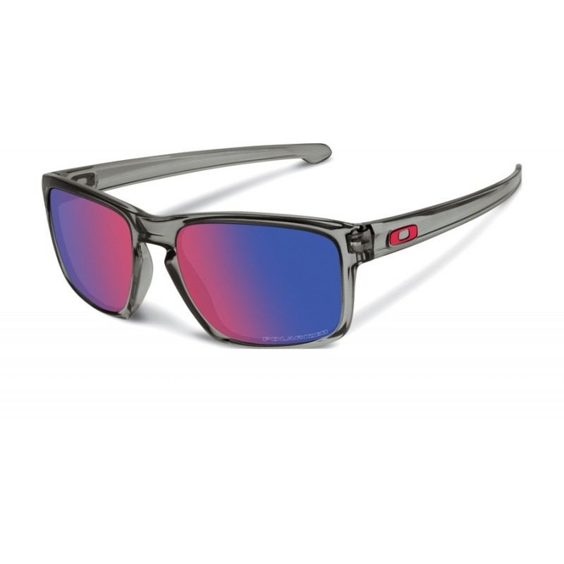 Oakley Sliver (Asian Fit) Grey Smoke / +Red Iridium Polarized - OO9269-06 Zonnebril