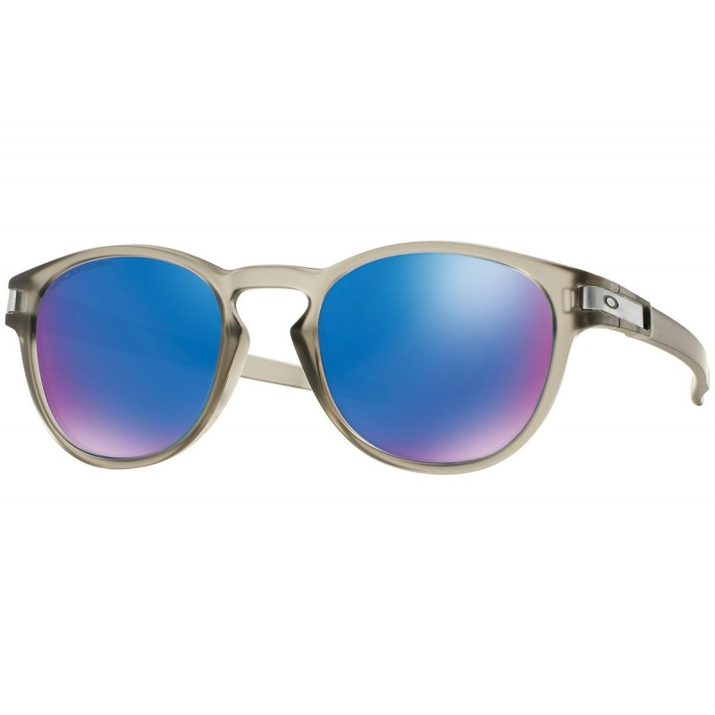 Oakley Latch - Matte Grey Ink / Sapphire Iridium Polarized - OO9265-08 Zonnebril