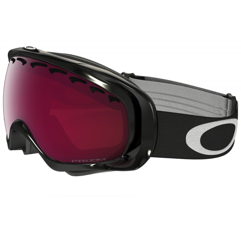 Oakley Crowbar - Jet Black / Prizm Snow Rose - 59-759 Skibril