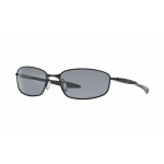 Oakley Blender Polished Black + Grey Polarized