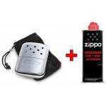 Zippo Handwarmer Compleet (handwarmer + flesje brandstof)