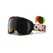 Oakley Canopy - Factory Pilot Fearlight / Dark Grey & Fire Iridium - 59-134 Skibril