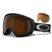 Oakley Canopy - Matte Black / Black Iridium & Persimmon - 57-931 Skibril