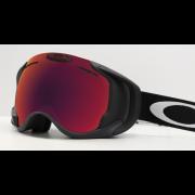 Oakley Airwave 1.5 Matte Black / Prizm Snow Torch Iridium - Skibril met Pisteplan!