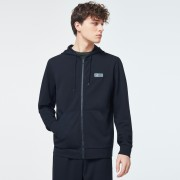 Oakley Patch FZ Hoodie Blackout - M