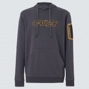 Oakley B1B Pocket Pullover Hoodie Forged Iron L