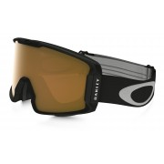 Oakley Line Miner - Matte Black / Persimmon - OO7070-07 Skibril