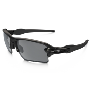 Oakley Flak 2.0 XL Polished Black + Black Iridium Polarized OO9188-08