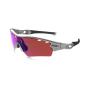 Oakley Radarlock Pitch Silver + G30 Iridium Vented