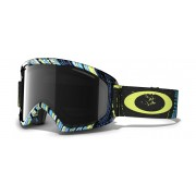 Oakley O2 XL - Stumped Lime Blue / Dark Grey - 59-657 Skibril