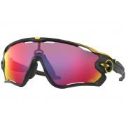 Oakley Tour de France Edition Jawbreaker - Matte Black / Prizm Road - OO9290-43 Zonnebril