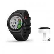 Garmin Approach Bundel S62 Zwart Golfhorloge + CT10 Swing Trackingsensoren