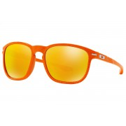 Oakley Enduro Fingerprint Atomic Orange + Fire Iridium OO9223-22