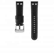 TW Steel Canteen Horlogeband Zwart TWB22